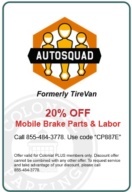 20% Off Mobile Brake Parts & Labor