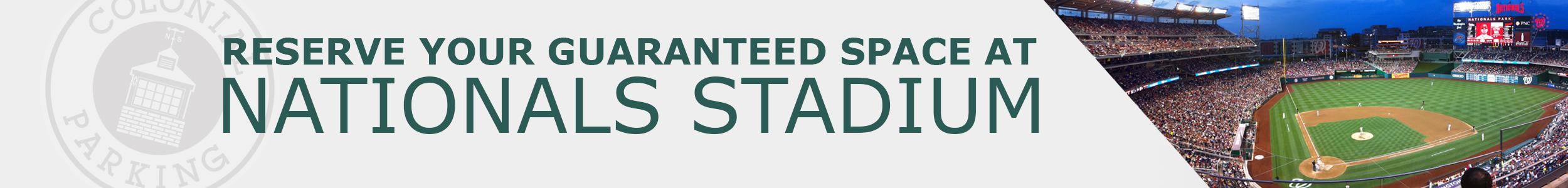 Nationals Stadium Parking